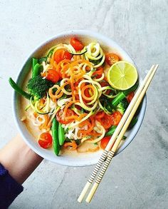Our Vegetarian Laksa recipe off our 8-Week Program. Do you eat laksa with chopsticks? – I Quit Sugar