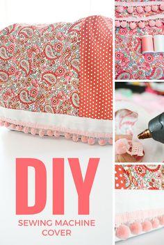 DIY Sewing Machine Cover - DIY Mama