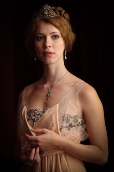 """Rebecca Hall as 'Sylvia' in """"Parade's End"""" BBC Television series 2012"""