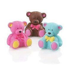 ADORABLE CUTE KAWAII NOVELTY BROWN TEDDY BEAR LIP BALM GLOSS GIFT MOISTURIZING