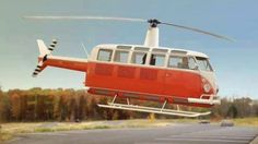 VW Bus Helicopter