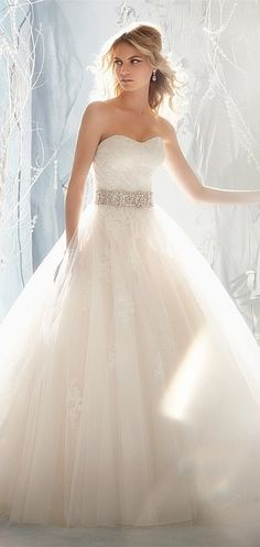 princess wedding dress #wedding #dresses #fashion