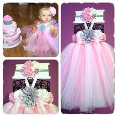 Custom made tutu dress. Great for weddings, flower girl dresses, birthdays and other special occasions!! For sale on Etsy!