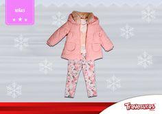 Colección fin de año 2015 - Chaqueta, blusa y pantalón niña. Más información en www.travesuras.com.co