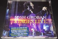 New Stages Live CD DVD by Josh Groban 2016 2 Discs Warner Bros | eBay