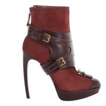 Oxblood Stirrup Buckle Boot....It's so edgy I can't help it!!!