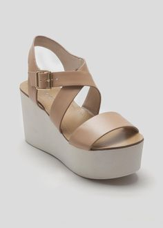 Flatform Sandal by Matalan Cute Shoes, Me Too Shoes, Pumps Heels, Shoes Sandals, Fashion Shoes, Sneakers Fashion, Sneaker Heels, Platform Shoes, Matalan