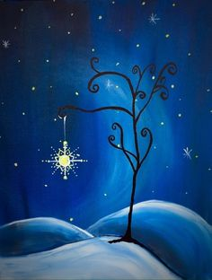 Paint Nite Palmsprings | Metallic and Sparkling Paint at The Sand Trap Sports Bar and Grill 11/17
