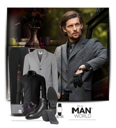 """""""A Man Thing"""" by anjelakewell ❤ liked on Polyvore featuring Dolce&Gabbana, Topman, Herschel Supply Co., Black, Tod's, Larsson & Jennings, Forzieri, Ted Baker, men's fashion and menswear"""