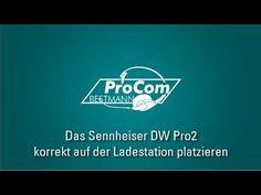 ProCom-Bestmann erklärt: Sennheiser DW Pro2 korrekt auf der Ladestation platzieren - YouTube