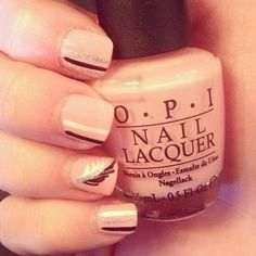 1920s inspired nails