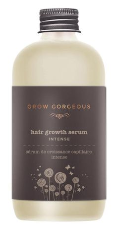 Achieve visibly thicker hair with the Grow Gorgeous' Hair Growth Serum Intense. Developed with a 40% concentration of nine technologies, Grow Gorgeous Hair Growth Serum improves hair length for a fuller appearance, whilst a unique form of water-compatible caffeine absorbs into the scalp to reduce hair loss.