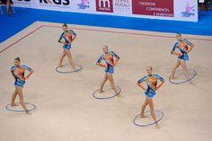 Team Belarus rhythmic group