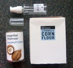 DIY Homemade Coconut cleansing milk recipe