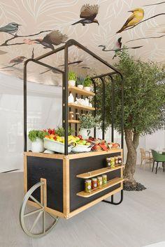 Restaurant Designs: Shababeek, Sharjah - Love That Design Interior Design Career, Interior Design Dubai, Interior Design Website, Kiosk Design, Booth Design, Retail Design, Cafe Design, Design Design, Design Trends