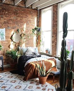 33 Beautiful Bohemian Bedroom Decor to Inspire You - Best Rugs - Ideas of Best Rugs - Bohemian Bedroom Decor Ideas Figure out how to understand bohemian area decoration with these 33 bohemia-style rooms from eclectic bedrooms to relaxed living areas. Dream Bedroom, Home Bedroom, Loft Style Bedroom, Nature Bedroom, Royal Bedroom, Bedroom Rugs, Childs Bedroom, Bedroom Wardrobe, Bedroom Curtains