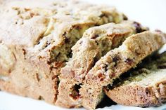 Recipe for apple walnut cranberry bread -- with the added bonus that it looks cute painted on your wall, if you have the desire to paint a recipe on your wall, that is. Cute post!