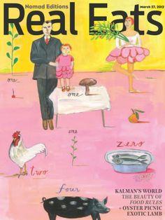 Magazine Cover Art: Maira Kalman