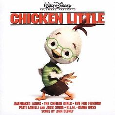 Chicken Little (Jewel): This is the soundtrack to the Walt Disney movie that features new music from Patti LaBelle with Joss Stone, Barnaked Ladies, Five For Fighting and more. Disney Pixar, Walt Disney Movies, Walt Disney Records, Disney Songs, Disney Music, Disney Stuff, Chicken Little, Five For Fighting, Amy Sedaris