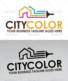 City Color Logo #GraphicRiver - Three color version: color, greyscale and single color. - The logo is 100% resizable. - You can change text and colors very easy using the named and organized layers that includes the file. - The typography used is Century Gothic a system default font. Created: 29June12 GraphicsFilesIncluded: VectorEPS #AIIllustrator Layered: No MinimumAdobeCSVersion: CS4 Resolution: Resizable Tags: agency #brand #branding #brush #brushing #build #building #business #city…
