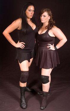 Wrestleing Busty women