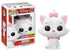 From Disney's the Arisocats, its Flocked Marie in Funko Pop Vinyl! Pop Disney, Walt Disney, Disney Marie, Best Funko Pop, Geeks, Disney Collection, Funko Pop Anime, Funko Pop Dolls, Funko Toys