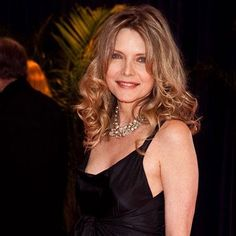 MICHELLE PFEIFFER  Michelle Pfeiffer keeps her 53-year-old body in shape with daily treadmill workouts (4-6 miles a day). Plus, she adheres to a low-fat diet that doesn't include wheat, dairy, or sugar. The actress is often spotted in public without a stitch of makeup, saying she doesn't like to wear a lot of color on her face. Pfieffer's natural radiance shines through, even under the pressure of the red carpet at the White House Correspondents Dinner in Washington D.C. on May 1, 2010.