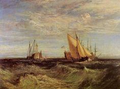 Turner, Joseph Mallord William: Die Vereinigung von Themse und Medway (Confluence of the Thames and the Medway)