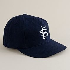 San Francisco Seals 1920s ballcap by Ebbets Field Flannels $40 via J.Crew