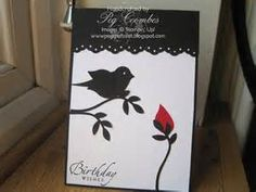 Stampin up bird punch