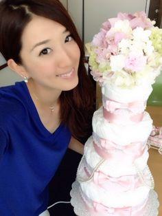 Sugisawa Yuka and  diaper cake