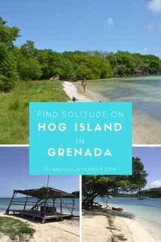 An island all to yourself? Yes please! Hog Island during the week is the perfect escape if you're vacationing in Grenada!