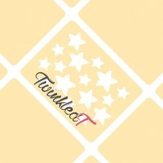 Original Dainty Star Stencils Nail Vinyls By Twinkled T - 1 Sheet of 16 Stencils ** This is an Amazon Affiliate link. Details can be found by clicking on the image.