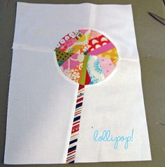 lollipop quilt block