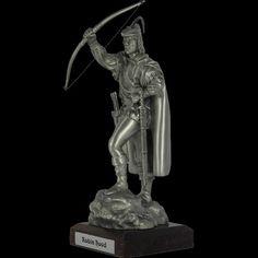 Pewter Robin Hood Sculpture