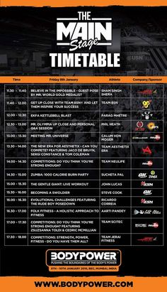 Folkfitness joins the Asia's Largest Fitness expo on 8- 10 Jan 2016 Check out the timetable Of the BodyPower INDIA #folkfitness #fitnessforall #BodyPower #BeInspired