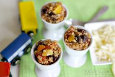 One-Pot Mexican Quinoa Casserole (And a Cute Way to Get Kids to Try Some: Egg Cups!)