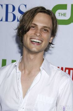 The sweet and adorkable Matthew Gray Gubler who plays the adorkable Dr. Spencer Reid in Criminal Minds.