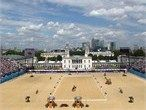 Spectacular view of the arena in Greenwich Park