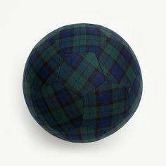 Plaid soccer ball