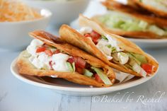 Fried Chicken Tacos - Recipe is in the Pioneer Woman's new book.  I need to buy it!