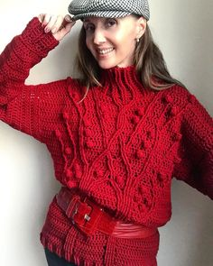 44 patrones de suéter de ganchillo gratis súper fáciles para 2019 - Page 22  of 58 06331f84923c