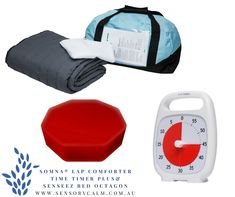 The Somna® Comforter is a daytime product with the same positive properties as the Somna® Blanket, with its two-in-one function: one chain side and one padded side. Time Timer, Baby Car Seats, Comforters, Gym Bag, Calm, Children, Products, Creature Comforts, Young Children