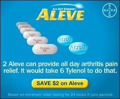 Aleve Coupon - Frugal Texas Diva