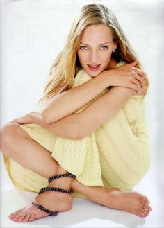 Massive Distraction: Uma Thurman