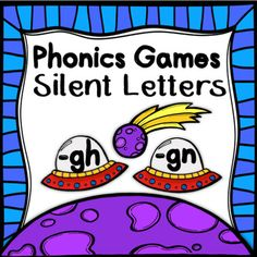 Great for reinforcement of Silent Letters (gn and gh), students will enjoy playing this fun and engaging board game.  With several ways to play, this game is perfect for small groups, partners, or stations!  Simply download, cut out the word cards, laminate for extended use, and watch your students have fun while mastering these tricky silent letters!Included: Game Board 2 sets of directions 36 Word CardsPlease take the time to preview this product so you know exactly what you are…