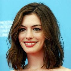 Long Bob Anne Hathaway Oblong: they're usually long