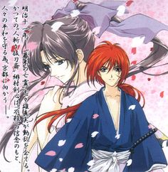 Rurouni Kenshin - one of the first animes after Sailormoon that I obsessed after... I loved Kenshin!