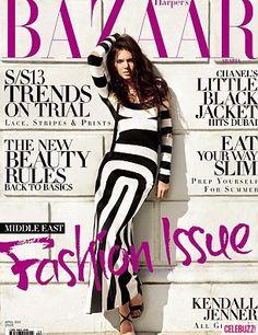 Kendall Jenner in Harper's Bazaar Arabia