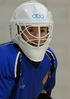 Maddie Hinch- GB and England International Goalkeeper- Ritual Hockey  Photo: Andy Smith